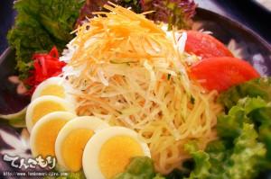 写真_野菜たっぷり冷やし麺