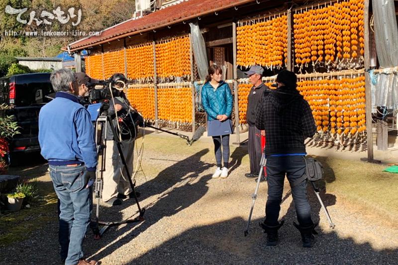 写真_ぎふチャン「ママご飯TV」で連柿の取材