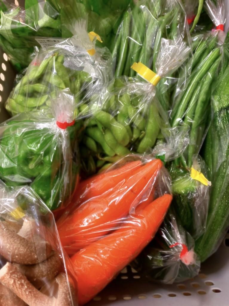 写真_夏の野菜たち