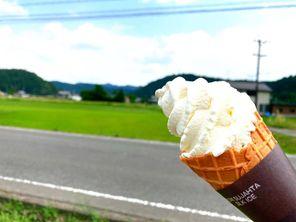 夏においしいソフトクリーム